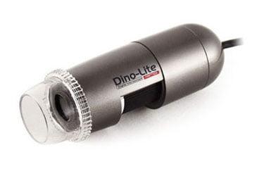 Microscópio Portátil Digital Com Polarizador 10x-50x 200x, USB 1,3M Pixels, 8 Led's Brancos, MicroTouch, Mod. DinoLite AM413ZT