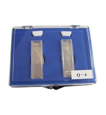 Cubeta de Quartzo Quadrada 3,5 ml, Caminho Ótico 10 mm