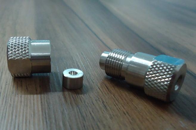 Holder para Coluna HPLC 3mm a 4,6mm