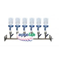 Manifold em Aço Inox para Filtração Simultânea